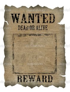 Wanted Poster Generator Make your own OldWeststyle Wanted Poster