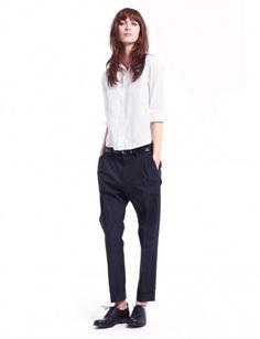 Mannish style, camicia bianca #MontorsiGiorgioModena #Masculinelook