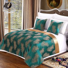 Factory Manufacture l Wholesale Design Size Of Queen Hotel Bed Runner and Cushion Set