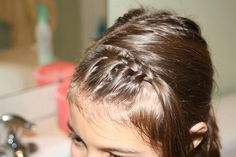 Amazing tips and tricks for little girls hairstyles! Hair Today!