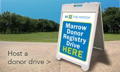 Host a marrow donor drive! Save A Life!  My daughter and I have in honor of my son, who is alive because of an angle donor