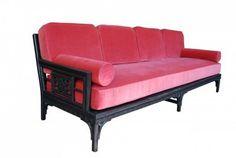 Vintage Hollywood Regency Chinoiserie Pink Sofa | eBay