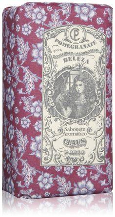 Claus Porto Classico & Fantasia Pomegranate Hand Soap Bar