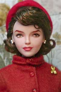 Jackie Kennedy doll - repaint, artist unknown, I have no other information