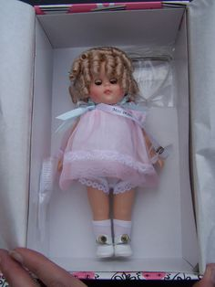 1980s Ginny Doll 8 Inch Miss 1930s - Never Removed From Box