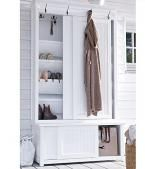 22 Shoe Storage Ideas Creating Space Saving Interior Design Shoe storage ideas can be simple and sophisticated, cheap and expensive. Smart, practical and space efficient [. Front Closet, Entryway Closet, Hallway Storage, Wardrobe Closet, Closet Storage, Closet Doors, Storage Hooks, Hidden Storage, Storage Spaces