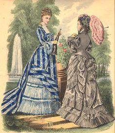 ... -Toudouze-Gravure-de-mode-XIXeme  robe du 19° siècle  Pinterest