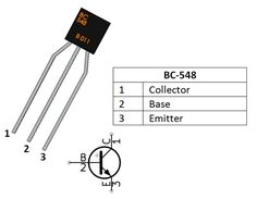 BC557 Transistor Pinout (See the complete site !!) | Electronics and ...