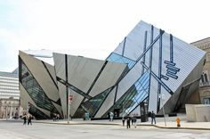 "Royal Ontario Museum, Toronto, Michael Lee-Chin ""Crystal""."