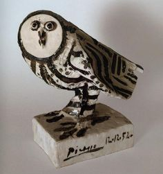 The Owl (ceramic) 1952, Pablo Picasso