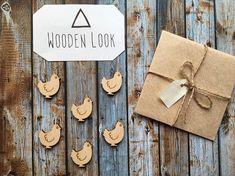 8 Pieces #supplies @EtsyMktgTool #craftsupplies #lasercutsupplies #woodtags #woodblanks #pendants #woodpendant #woodcraftsupply
