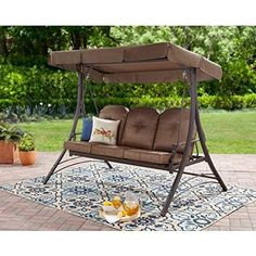porch swings with canopy lawn swing with canopy converting outdoor swing canopy hammock 3 garden treasures. creative patio swings with canopy swing item Outdoor Swing With Canopy, Outdoor Hammock Bed, Porch Swing Frame, Outdoor Patio Swing, Canopy Swing, Patio Canopy, Hammock Swing, Outdoor Decor, Pergola Patio