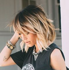 Color AND cut. Love it! #richfashion #unique #style #hair #hairstyle #love