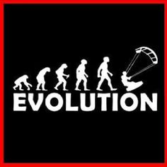 Evolution #kiteboarding