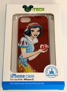 Disney SNOW WHITE D-Tech iPhone 5 Case Hard Plastic Cover NEW Skin