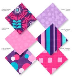 Michael Miller Fabric, Prince And Princess, Fabric Crafts, Dots, Quilts, Appliques, Instagram Posts, Flowers, How To Make