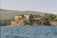 Capo Forcado lighthouse [1863 - Porto Azzurro, Tuscany, Italy]