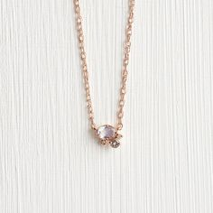 Moon and Back Cluster Necklace – Melanie Casey Necklace Chain Lengths, Necklace Sizes, Bracelet Sizes, Rose Gold Chain, Gold Chains, Cluster Necklace, Gold Necklace, Gold Set, Rainbow Moonstone