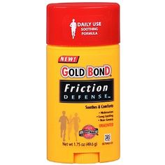 Player/Coach Need Gold Bond Chafing Defense Anti-Friction Formula Glide is another good alternative
