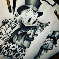 Ideas for Disney lovers Let& make a discount Cost from 8 . Chicano Art Tattoos, Gangster Tattoos, Body Art Tattoos, Hand Tattoos, Cool Tattoos, Rose Drawing Tattoo, Tattoo Design Drawings, Tattoo Sketches, Tattoo Designs