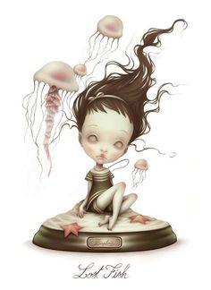 Illustration Lostfish art