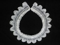 Downton Abbey style lace collar  circa 1910 by VintageIrishDresser