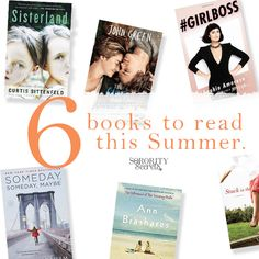 The Sorority Secrets: 6 Books to Read This Summer