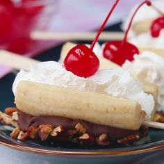 Banana Split On A Stick