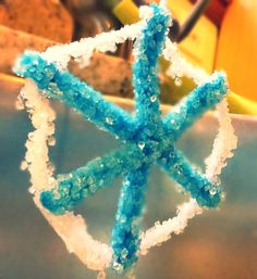 My borax snowflake