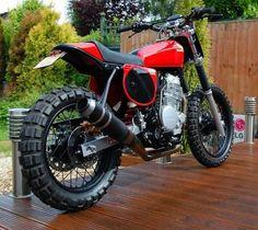 honda xl 185 scrambler - A newer version of my bike :)