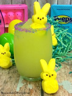 My Incredible Recipes – Discover Delicious Easter Drink, Easter Cocktails, Easter Dinner, Easter Brunch, Easter Party, Easter Food, Easter Peeps, Bar Drinks, Yummy Drinks