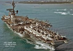 American Aircraft Carriers, Battle Ships, Navy Aircraft Carrier, Go Navy, Us Navy Ships, Navy Marine, United States Navy, Military Equipment, Military Life