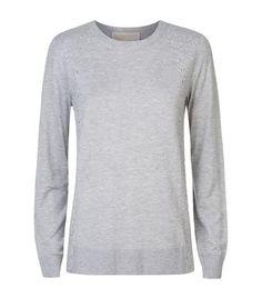 MICHAEL Michael Kors Stud Detail Sweater available to buy at Harrods. Shop Luxury Women's Knitwear online & earn reward points.