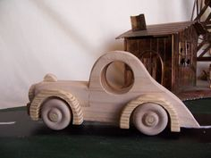 Toy Car Coupe Style for the Kids Children by Tigerseyecrafts