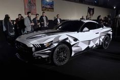 Reportage : Ford Mustang arrive en France #ford #car #voiture #mustang…