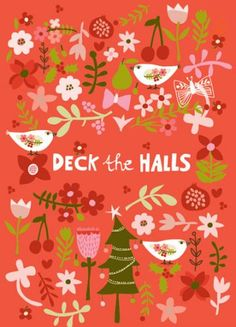 GREETING CARDS & INVITATIONS :: NEW! Deck the Halls - Ecojot - eco savvy paper products