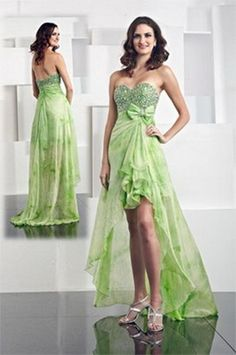 green apple bridesmaid dresses | Lovely Green Wedding Dress » Women's Styles & Care | Women's Styles ...