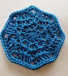 Octagon Motif Free Crochet Pattern   spincushions