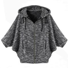 Cupshe After Midnight Hooded Knitting Top