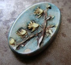 Forsythia Pendant - Heather Powers