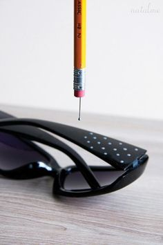 Add polka dots to your sunglasses!