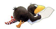 ♥ Rooster, Muffins, Portfolio, Comics, Animals, Disney, Raven, Drawings, Cartoon