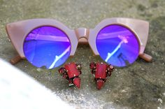 Jplus sunglasses & Radà earrings