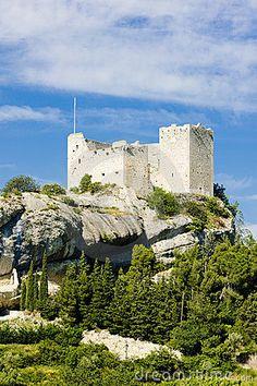 Ruins of castle, Vaison-la-Romaine, Provence, France
