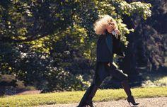 Remembered by Eros   Edita Vilkeviciute   Camilla Akrans #photography   Vogue Japan September 2012