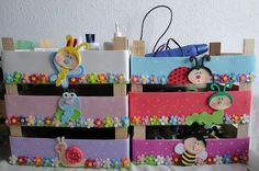 A Diy Y Manualidades, Teaching Social Studies, Box, Ideas Para, Decoupage, Upcycle, Kids Room, Recycling, Diy Crafts