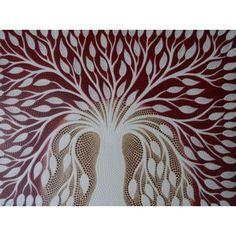 Lukisan Abstrak Teknik Dot Motif Pohon Putih  Panjang : 70 cm  Lebar : 90 cm  Bahan : Kanfas, Cat Vynilex  Lukisan ini menggunakan Teknik Melukis Dot (Dot Painting).  Lukisan titik (dot painting) ini menggambarkan sebuah cerita. Pelukis dot menciptakan gambar dengan menerapkan titik-titik berbagai warna, dengan menggunakan alat-alat primitif seperti tongkat, duri moncong dan paku yang di lakukan pada suku Aborigin. Tapi sekarang sebagian seniman memadukan seni Lukisan titik (dot painting)…