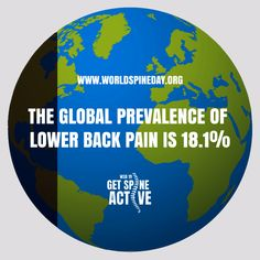 The global prevalence of is 🌍🌎🌏 👐 💆♀️ E Day, Chiropractic Care, Spinal Cord, Low Back Pain, Health Problems, Nervous System, Health Care, Acting, Physiology