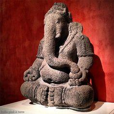 At the Art Institute of Chicago - Primitive Ganesh