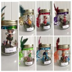 Made these fairy jars for my daughter's pirate fairy party. So cute. I love them.